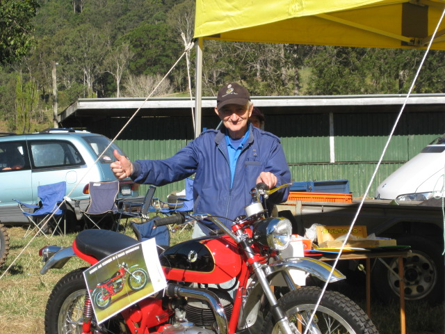 Don Newell at Classic Dirt 2010