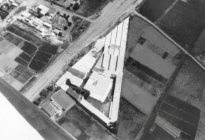 Aerial view of Mas Casellas